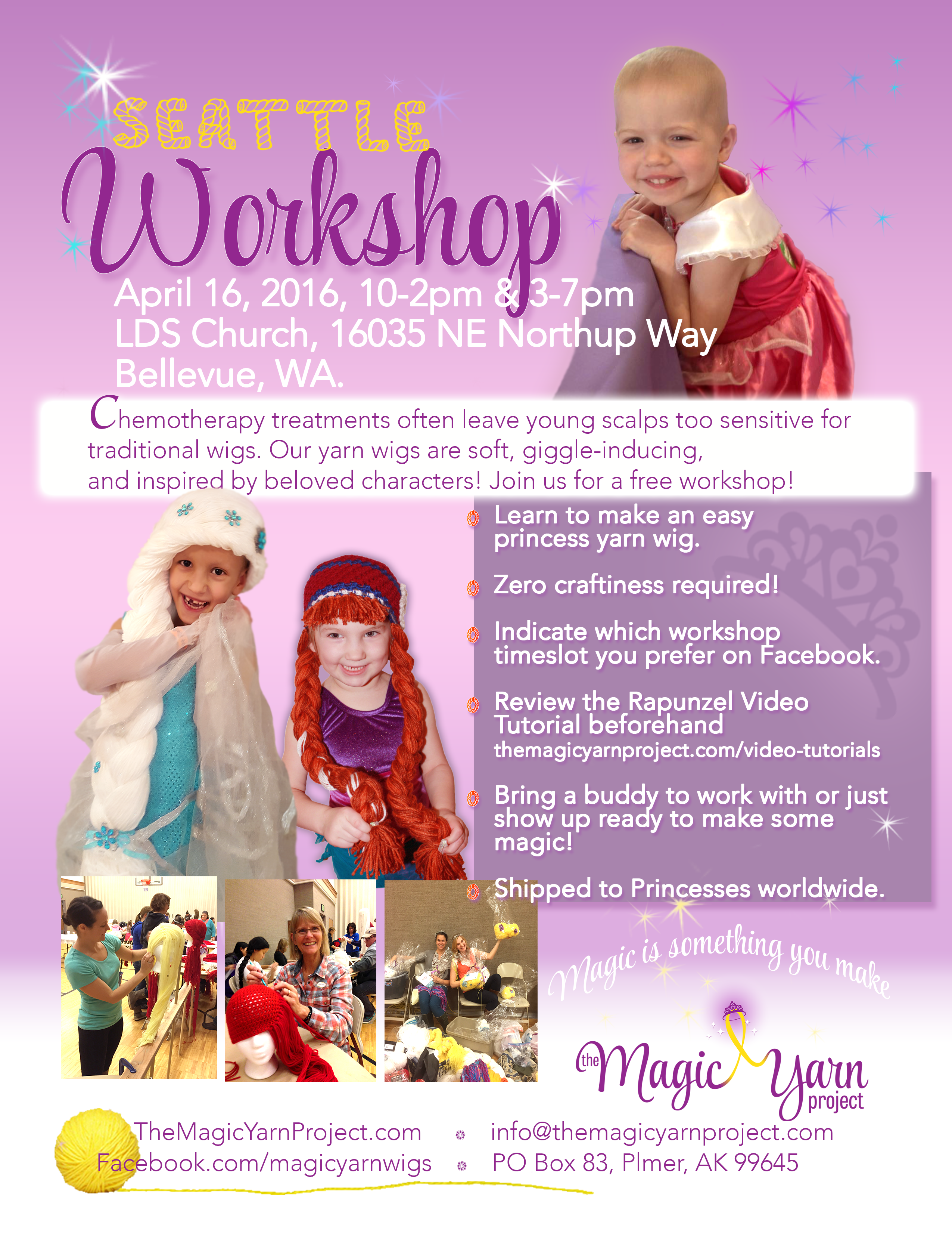 Seattle Workshop | The Magic Yarn Project