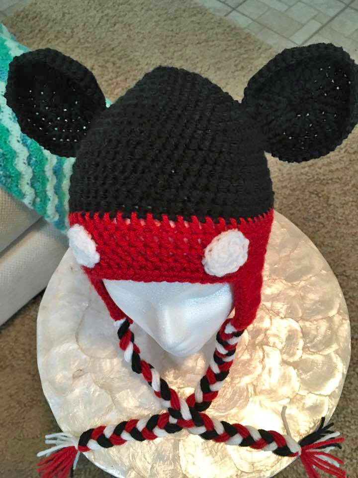 Mickey Mouse Hat The Magic Yarn Project