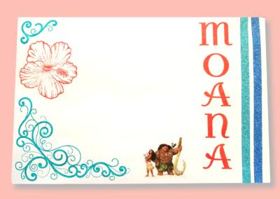 Moana envelope